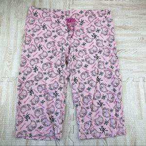 Disney Pink Thumper Chinese Pajama Capri Pants